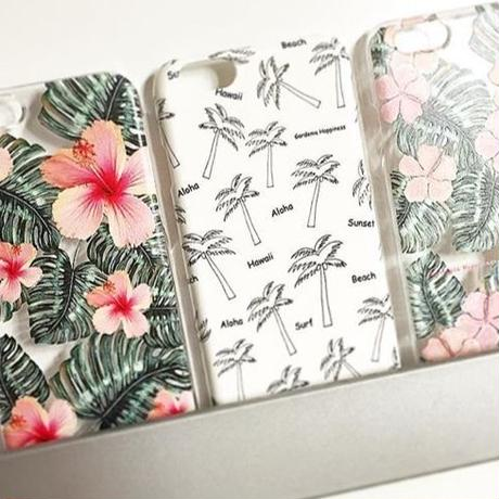 スマホケースAICA-56  Summer of Hawaii iPhone5/5s/SE/5c/6/6s/Android