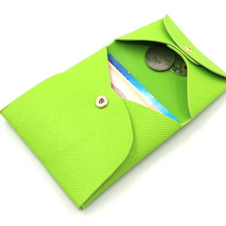 ユニセックス二つ折りコインケース 5色