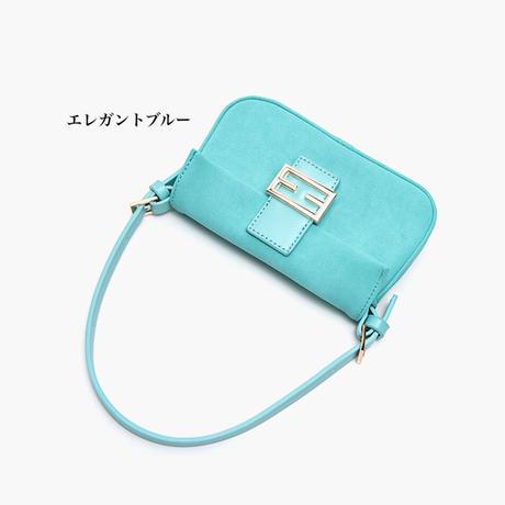 ロマンティックマカロンカラー2Wayミニバッグ 4色