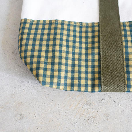 A11 CANVAS TOTE / GINGHAM