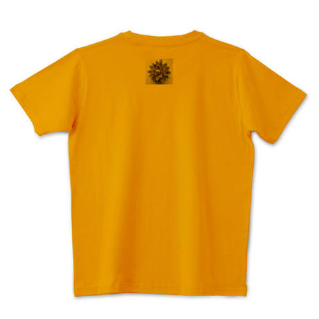 多肉植物Tシャツ オレンジ