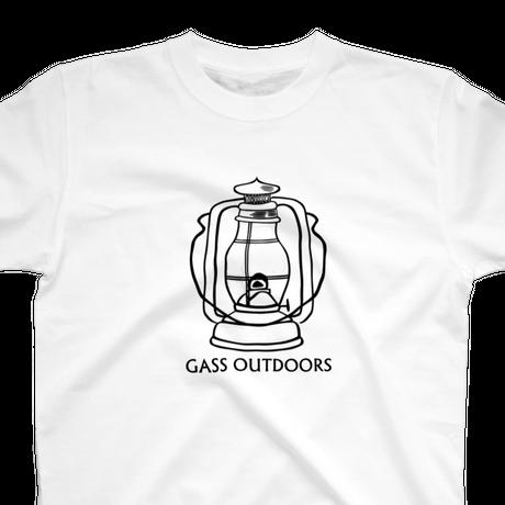 GASS outdoors-U-TEE ホワイト