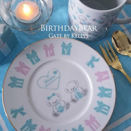 【セット割引3枚セット】A3サイズ★Anniversary Bear1周年記念転写紙/ミントラテ