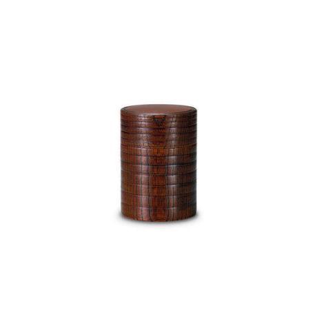 欅工芸 茶筒