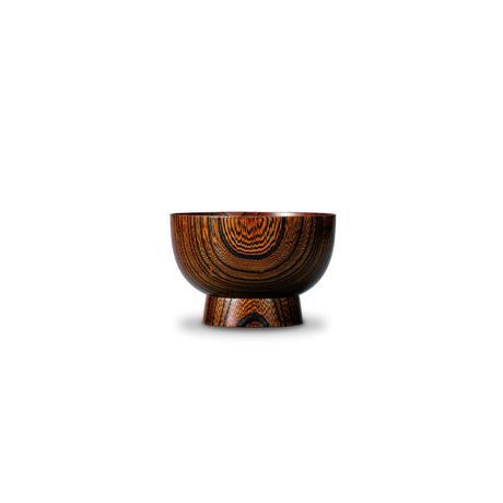 欅 高台椀 (小) 拭漆