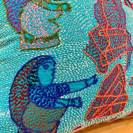 Sujini Cushion Cover 30*30 (Pooja)