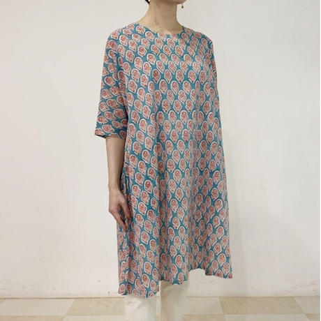 Sanganer Block Printed AT Dress (Lilly)
