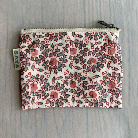 Sanganer Print Mini Pouch