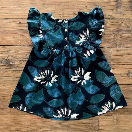 GAYA Renu, Frilly Dress (Black Lotus)