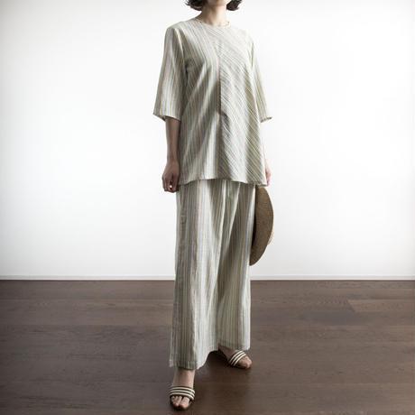 Khadi Cotton Wide Pants