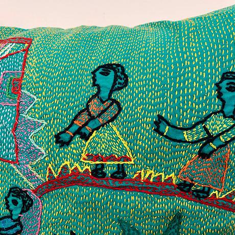 Sujini Cushion Cover 43*43 (The way to Home)