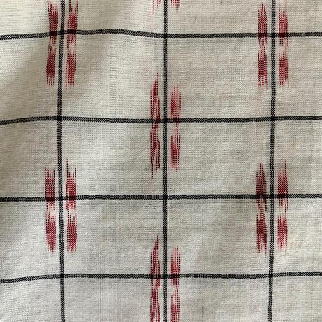 Ikat Long Shirts Dress