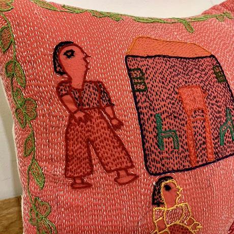 Sujini Cushion Cover 30*30 (Family)