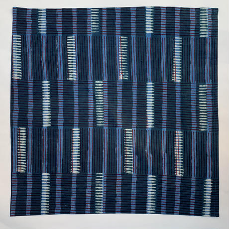 Hand Block Printed Handkerchief (Rain Forest)