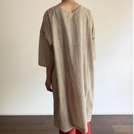 Hand Block Printed Over Sized Midi Dress