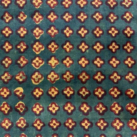 Hand Block Printed Dolman Short Shirts (Flowers)