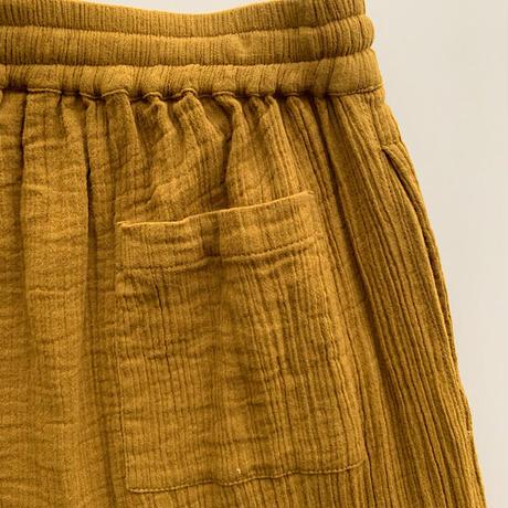 Double Gauze Cotton Pants