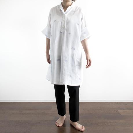 Over Sized Jamdani Khadi Cotton Blouse