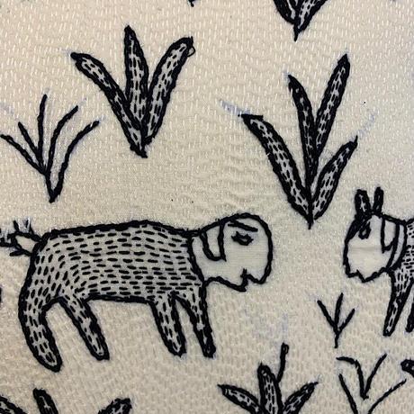 Sujini Cushion Cover 40*40 (Sheeps)