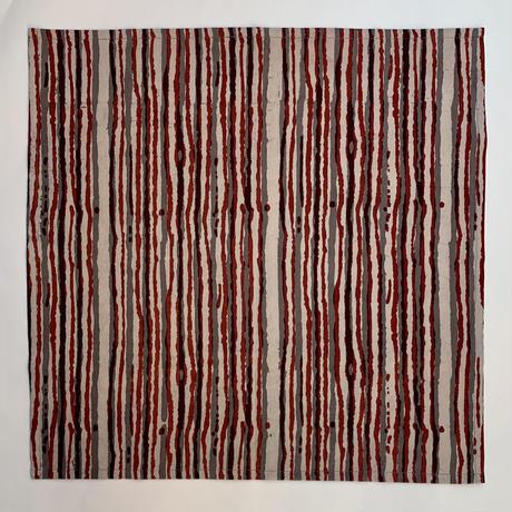 Hand Block Printed Handkerchief (Shapes)