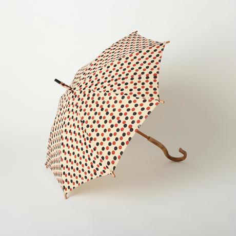 日傘(ドット柄)