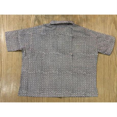Hand Block Printed Dolman Short Shirts (Ajrakh)
