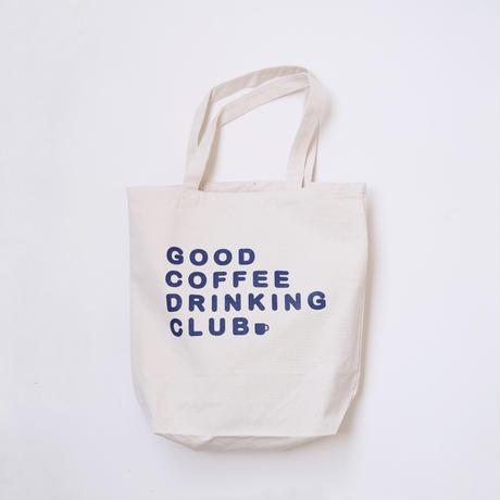 """GCDC basic logo tote bag """"2nd lot""""_natural"""
