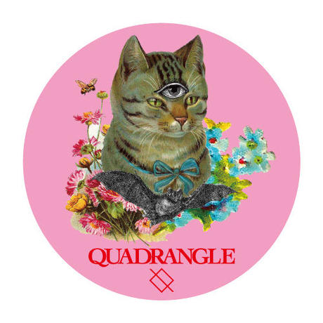 【QUADRANGLE】COMPACT MIRROR (CAT)