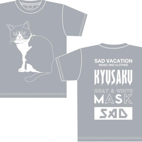【SAD VACATION】 SAD VACATION×KYUSAKU BIG T-SHIRTS