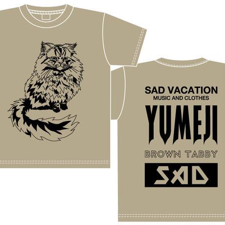 【SAD VACATION】 SAD VACATION × YUMEJI BIG T-SHIRTS(サンド)