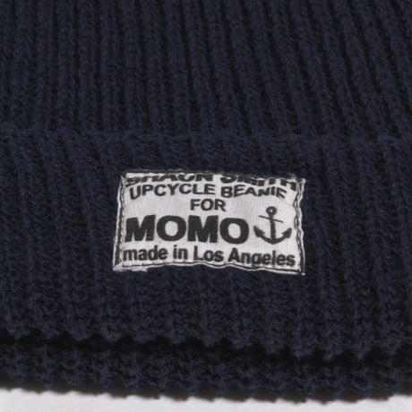 ALM RECYCLE BEANIE / NAVY
