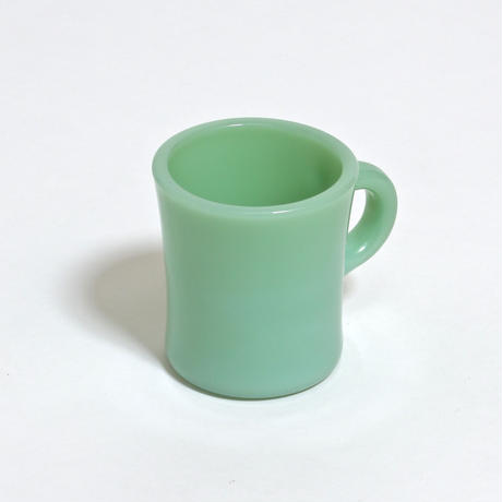 FIRE KING EXTRA HEAVY MUG / JADE-ITE