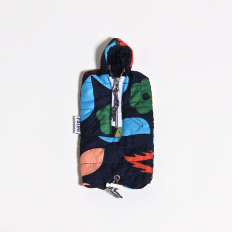 POLER SUNSACK CASE / NAVY RAINBROW
