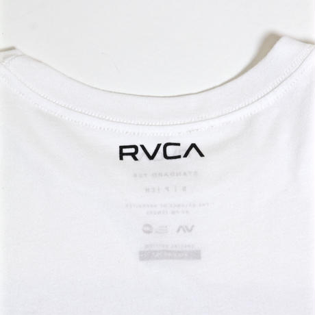 RVCA  ALEX KNOST SIGNATURE MODEL PHOTO T-SHIRTS / WHITE