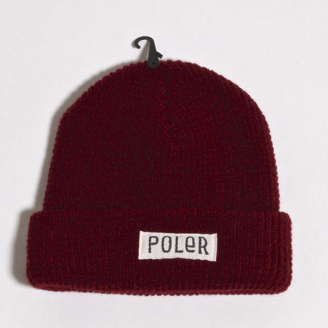 POLER WORKERMAN BEANIE / CERRY