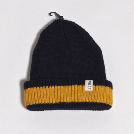 POLER LAKE WALK BEANIE / NAVY