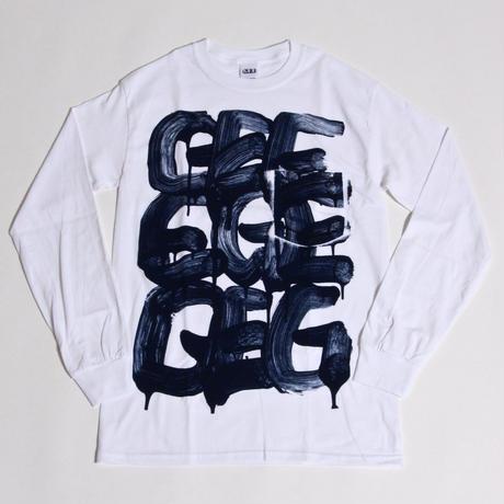 TAKAO NIIKURA × GEE ORIGINAL L/S  POCKET T-SHIRTS / WHITE
