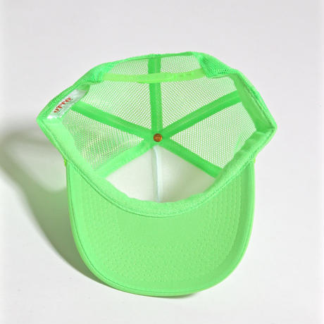 ALM MOMO SURF CADDY CAP / WHITE×FLUORESCENT GREEN