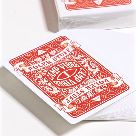 POLER POLKER PLAYING CARDS / ORANGE