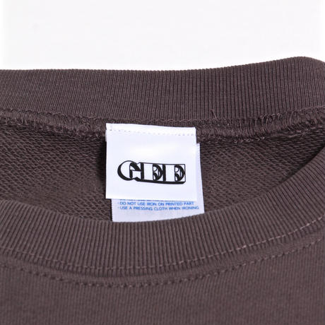 GEE ORIGINAL 10.0oz SWEAT SHIRTS / CHARCOAL