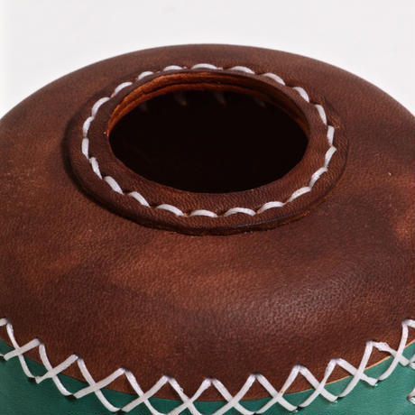 GEE ORIGINAL GAS COVER / BROWN×GREEN / size:110