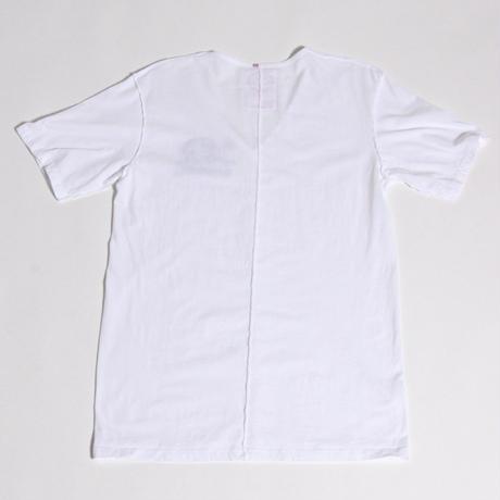ALM V-NECK T-SHIRTS wirth CALIFORNIA BEAR / WHITE / size:L