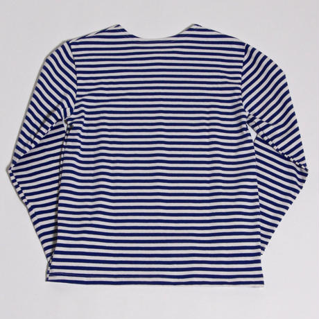 DEAD STOCK RUSSIAN NAVAL BORDER SHIRT / BLUE
