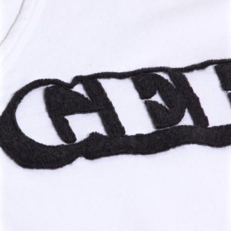 "ALM×GEE V-Neck Solid L/S T-shirts ""GEE"" / CHACOAL GREY / size:L"