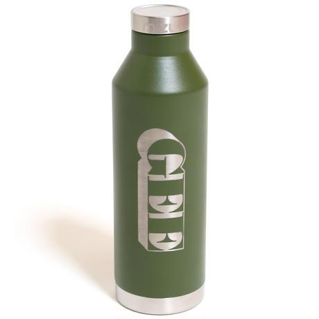 GEE ORIGINAL MIZU BOTTLE V8 / MADURO ARMY GREEN