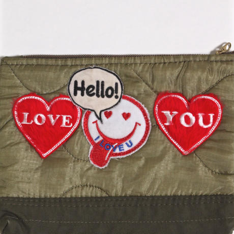 ALM MIRITALY POUCH with PATCH