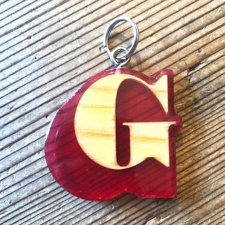 """GEE ORIGINAL KEYHOLDER """"G"""" / RED"""