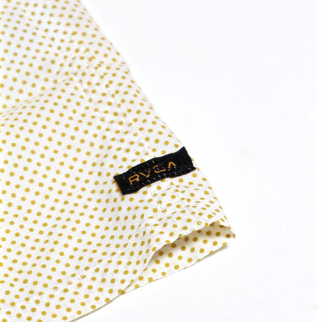 RVCA  ELLIS ERICSON DOT S/S SHIRT / WHITE