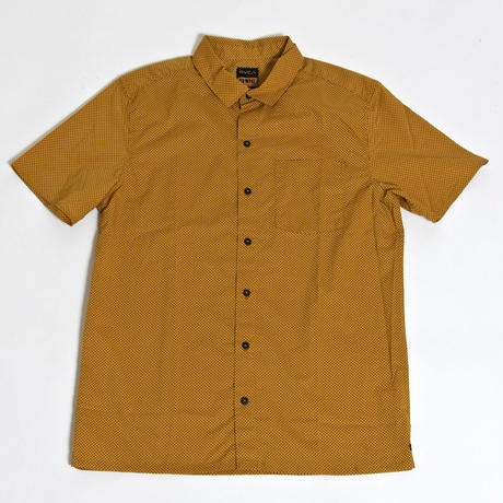 RVCA  ELLIS ERICSON DOT S/S SHIRT / YELLOW