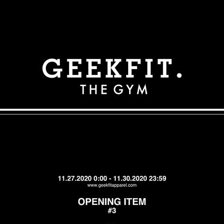 GEEKFIT. THE GYM SNAPBACK [black]